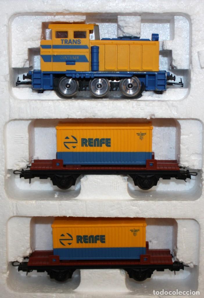 Trenes Escala: IBERTREN EQUIPO COMPLETO 2000. AÑOS 80 - Foto 4 - 115821335