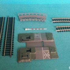 Trenes Escala: VIAS Y PASO NIVEL IBERTREN ESCALA H0 16MM. Lote 117997988