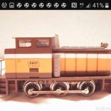 Trenes Escala: LOCOMOTORA HO MANIOBRAS IBERTREN 2117 GRATIS ENVIO. Lote 118562932