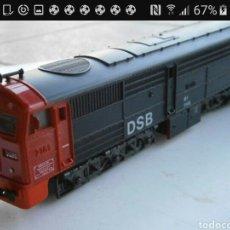 Trenes Escala: LOCOMOTORA HO IBERTREN 2114 GRATIS ENVIO. Lote 118566956