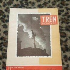 Trenes Escala: REVISTA TREN MINIATURA, AÑO 1957. Lote 136134774