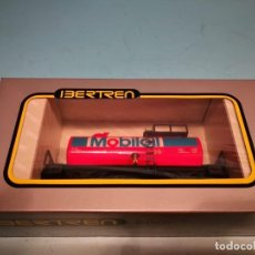 Trenes Escala: VAGON CISTERNA MOBILOIL IBERTREN H0. Lote 139736730