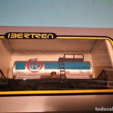Trenes Escala: VAGON CISTERNA R DOS EJES IBERTREN H0. Lote 139736986