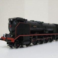 Trenes Escala: LOCOMOTORA IBERTREN 4101 CON TENDER DE CARBÓN Y STOKER. Lote 140230862