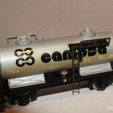 Trenes Escala: IBERTREN VAGON CISTERNA CAMPSA BARATO VER DESCRIPCION ESCALA H0. Lote 140940274