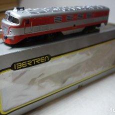 Trenes Escala: IBERTREN HO RENFE,ANTIGUA LOCOMOTORA DIESEL TALGO 2000. Lote 142986890
