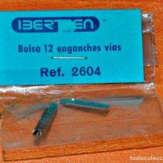Trenes Escala: BOLSA CON 3 ENGANCHES PARA VÍAS DE IBERTREN, REF. 2604. ESCALA HO.. Lote 145204634