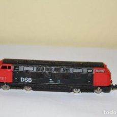 Trains Échelle: LOCOMOTORA DIESEL ALCO DSB FERROCARRILES DANESES H0 IBERTREN AÑOS 80. Lote 146081214