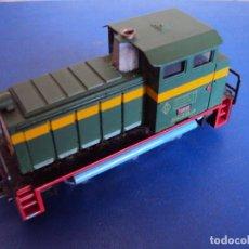 Trenes Escala: (JU-180100)LOCOMOTORA DIESEL RENFE 10400 DE IBERTREN (FUNCIONANDO). Lote 146234978