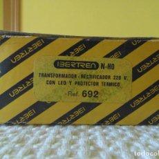Trenes Escala: TRANSFORMADOR RECTIFICADOR CON LED Y PROTECTOR TERMICO REF.692 N-H0. Lote 146640894
