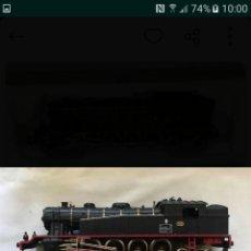 Trenes Escala: LOCOMOTORA HO IBERTREN VAPOR ANALOGICA ENVIO INCLUIDO. Lote 146994601