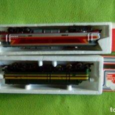 Trenes Escala: 2 LOCOMOTORAS HO. Lote 147533262