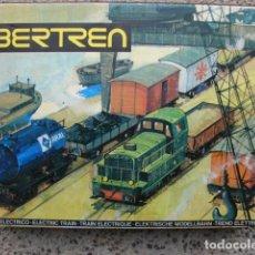 Trenes Escala: TREN ELÉCTRICO A ESCALA N3 DE MERCANCIAS - IBERTREN 111. Lote 148914166
