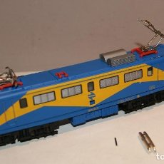 Trenes Escala: LOCOMOTORA IBERTREN 2116 MITSUBISHI RENFE N.I 2 FUNCIONANDO MUY BUEN ESTADO,BARATA. Lote 154202174