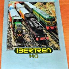 Trenes Escala: CATÁLOGO IBERTREN HO DEL AÑO 1980. Lote 233848825