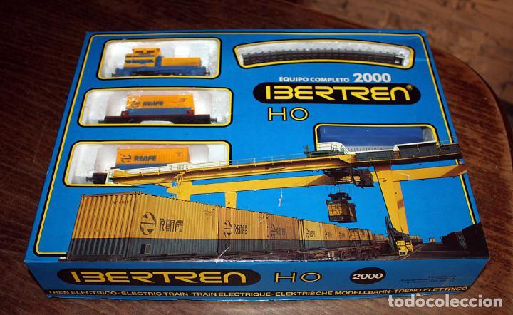 Trenes Escala: IBERTREN - EQUIPO COMPLETO 2000 - H0 - EN SU CAJA ORIGINAL - Foto 2 - 158665770