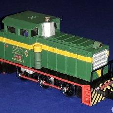 Züge Spur - Locomotora Diesel Maniobras 304 Renfe 10435 ref. 2101, Ibertren H0. original años 80. - 160643016