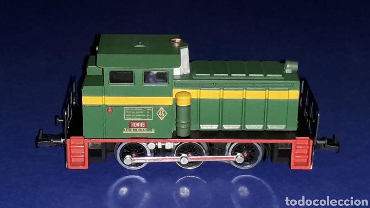 Trenes Escala: Locomotora Diesel Maniobras 304 Renfe 10435 ref. 2101, Ibertren H0. original años 80. - Foto 6 - 160643016