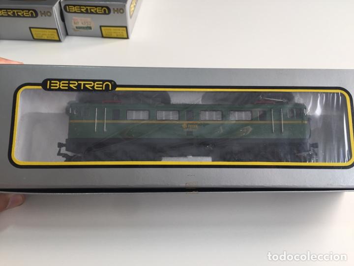 LOCOMOTORA ELECTRICA MITSUBISHI IBERTREN ESCALA H0 REF. 2109 EN CAJA (Juguetes - Trenes a Escala - Ibertren H0)