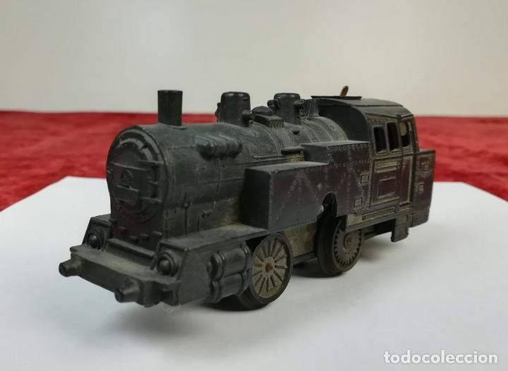 Trenes Escala: FERROCARRIL. LOTE 3 LOCOMOTORAS ESCALA. RENFE. (CIRCA 1960-1970). ESPAÑA - Foto 11 - 166747178