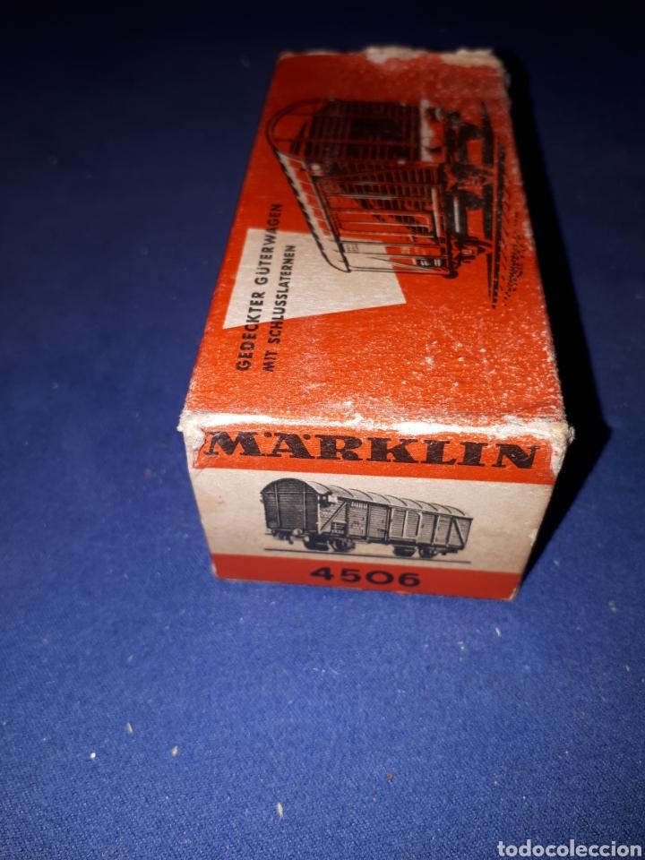 Trenes Escala: MARKLIN VAGON 4506 - Foto 8 - 167949316