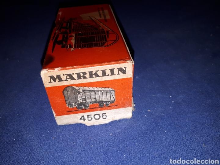 Trenes Escala: MARKLIN VAGON 4506 - Foto 10 - 167949316