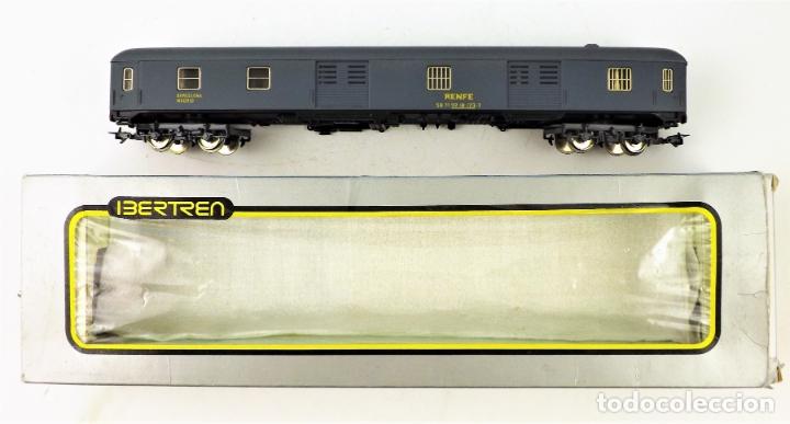 IBERTREN H0. FURGÓN GRIS (Juguetes - Trenes a Escala - Ibertren H0)
