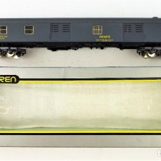 Trenes Escala: IBERTREN H0. FURGÓN GRIS. Lote 174443639