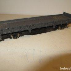 Trenes Escala: VAGON IBERTREN PERFIL BAJO EN BUEN ESTADO COMPLETO,BARATO. Lote 179111003