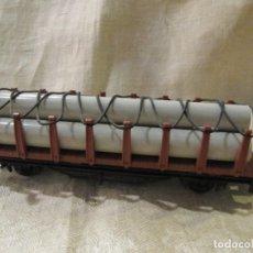 Trenes Escala: VAGON DE CARGA CON TUBOS - IBERTREN. Lote 180391826