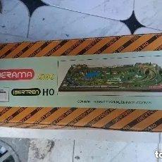 Trenes Escala: JOYA COLECCIONISTAS IBERAMA 2800 IBERTREN H0 AÑOS 70 80 NUEVO SIN USO 115X215 CMS. Lote 182752235