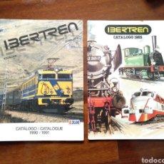 Trenes Escala: 2 CATÁLOGOS IBERTREN ESCALA H0 1985 Y 1990/1991. Lote 182958435