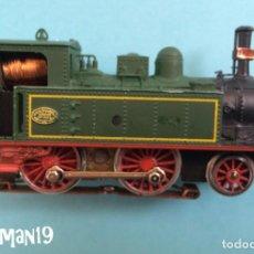 Trenes Escala: IBERTREN HO - LOCOMOTORA VAPOR MZA - VER FOTOS. Lote 183701606