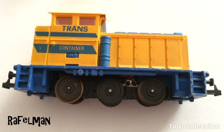 IBERTREN HO - MÁQUINA MANIOBRAS - TRANS CONTAINER (Juguetes - Trenes a Escala - Ibertren H0)