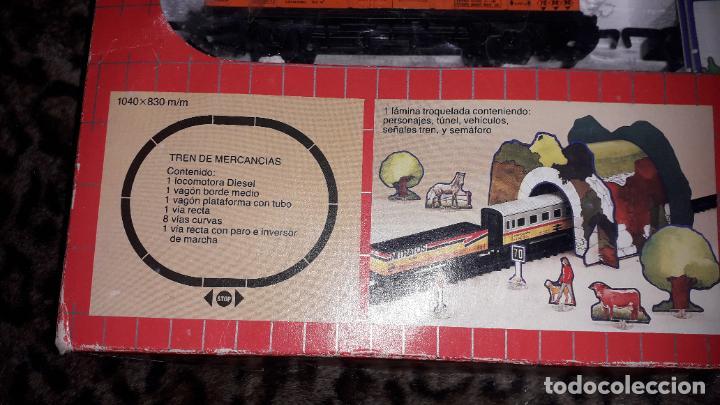 Trenes Escala: TRENEX IBERTREN MERCANCIAS REF.5001, TREN DE JUGUETE, TREN ANTIGUO, IBERTREN - Foto 5 - 184480053