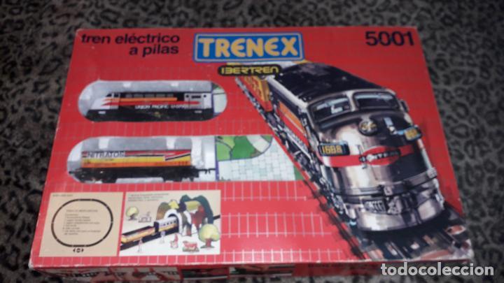 TRENEX IBERTREN MERCANCIAS REF.5001, TREN DE JUGUETE, TREN ANTIGUO, IBERTREN (Juguetes - Trenes a Escala - Ibertren H0)