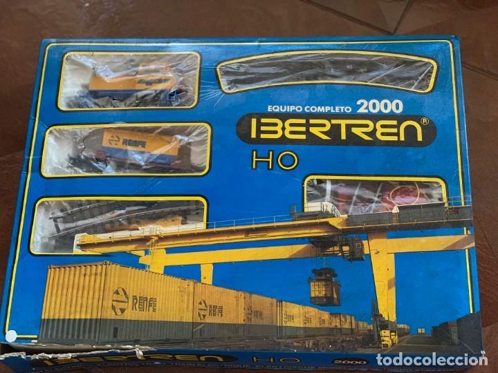 IBERTREN HO. EQUIPO COMPLETO REFª 2000 TREN DE MERCANCÍAS, ESCALA HO. (Juguetes - Trenes a Escala - Ibertren H0)