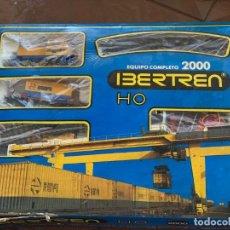 Trenes Escala: IBERTREN HO. EQUIPO COMPLETO REFª 2000 TREN DE MERCANCÍAS, ESCALA HO.. Lote 185439850