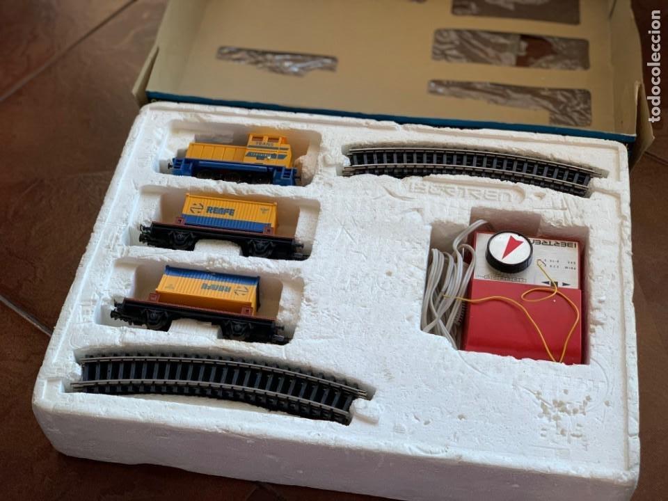 Trenes Escala: IBERTREN HO. Equipo completo Refª 2000 Tren de mercancías, escala HO. - Foto 2 - 185439850