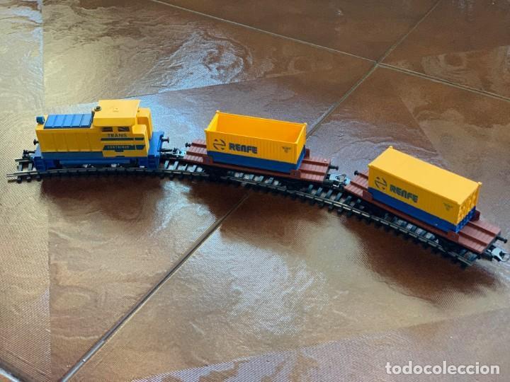 Trenes Escala: IBERTREN HO. Equipo completo Refª 2000 Tren de mercancías, escala HO. - Foto 4 - 185439850