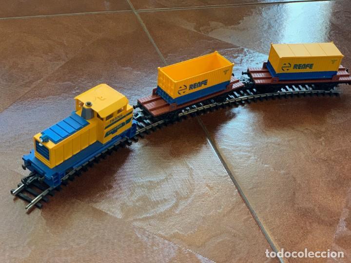 Trenes Escala: IBERTREN HO. Equipo completo Refª 2000 Tren de mercancías, escala HO. - Foto 5 - 185439850