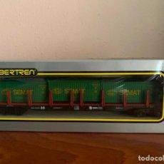 Trenes Escala: IBERTREN H0 VAGON SEMAT. Lote 185873287