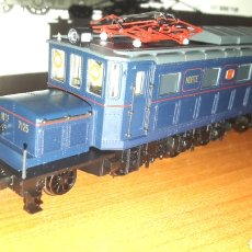 Trenes Escala: LOCOMOTORA IBERTREN H0 NORTE SERIE 7100 1929 REF. 4202-B. Lote 186353747
