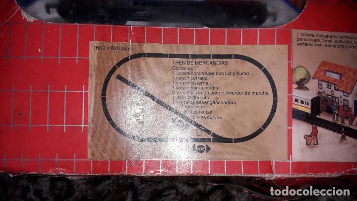 Trenes Escala: IBERTREN TRENEX REF. 5042 VAPOR CON LUZ Y HUMO, TREN ANTIGUO, JUGUETE ANTIGUO - Foto 13 - 189220753