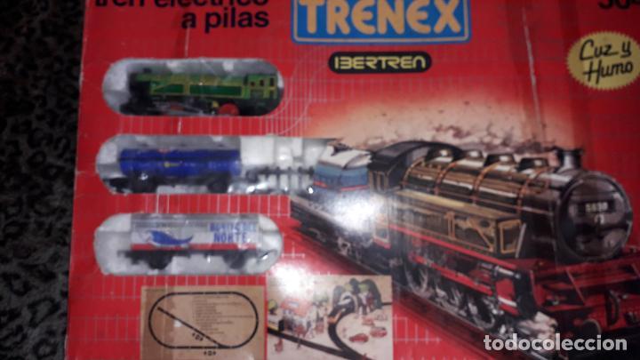Trenes Escala: IBERTREN TRENEX REF. 5042 VAPOR CON LUZ Y HUMO, TREN ANTIGUO, JUGUETE ANTIGUO - Foto 14 - 189220753