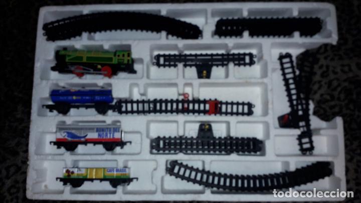 Trenes Escala: IBERTREN TRENEX REF. 5042 VAPOR CON LUZ Y HUMO, TREN ANTIGUO, JUGUETE ANTIGUO - Foto 15 - 189220753