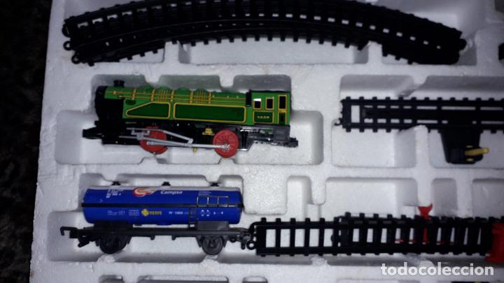 Trenes Escala: IBERTREN TRENEX REF. 5042 VAPOR CON LUZ Y HUMO, TREN ANTIGUO, JUGUETE ANTIGUO - Foto 17 - 189220753