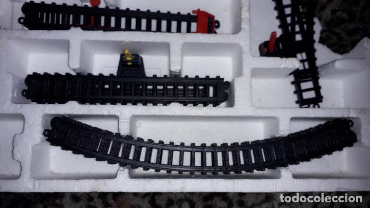 Trenes Escala: IBERTREN TRENEX REF. 5042 VAPOR CON LUZ Y HUMO, TREN ANTIGUO, JUGUETE ANTIGUO - Foto 20 - 189220753