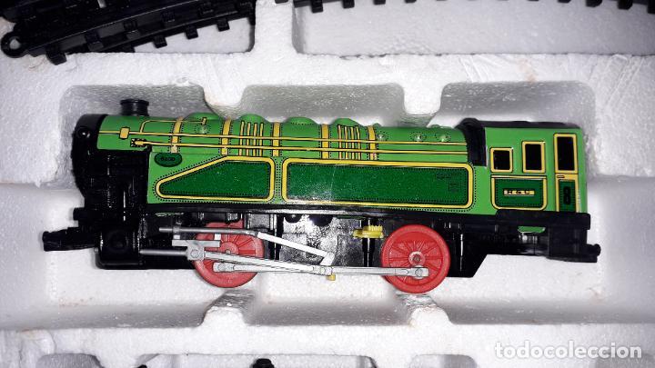 Trenes Escala: IBERTREN TRENEX REF. 5042 VAPOR CON LUZ Y HUMO, TREN ANTIGUO, JUGUETE ANTIGUO - Foto 22 - 189220753