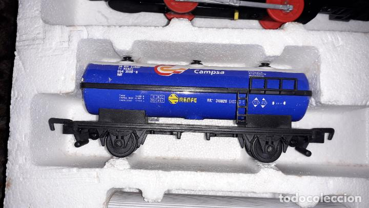 Trenes Escala: IBERTREN TRENEX REF. 5042 VAPOR CON LUZ Y HUMO, TREN ANTIGUO, JUGUETE ANTIGUO - Foto 23 - 189220753